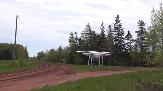 The drone aircraft is relatively easy to fly and well-suited to aerial photography, says real estate agent Michael Poczynek.