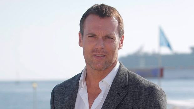 Canadian actor Michael Shanks, seen in October, will have big skates to fill in portraying Gordie Howe.