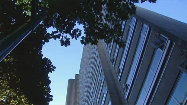 Police are investigating after a fire tore through a suite in this West End apartment block on Sunday afternoon.