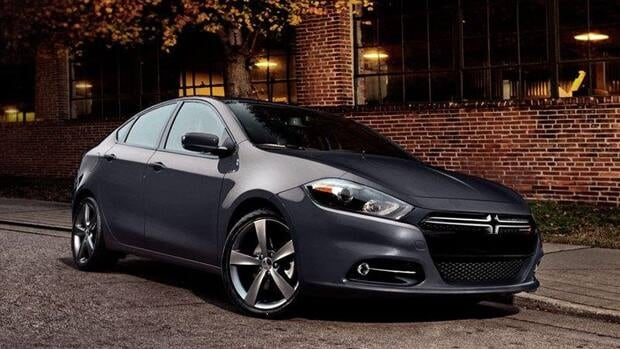 Police believe one of the two vehicles involved in the alleged abduction was a dark grey Dodge Dart similar to the one shown in this picture.
