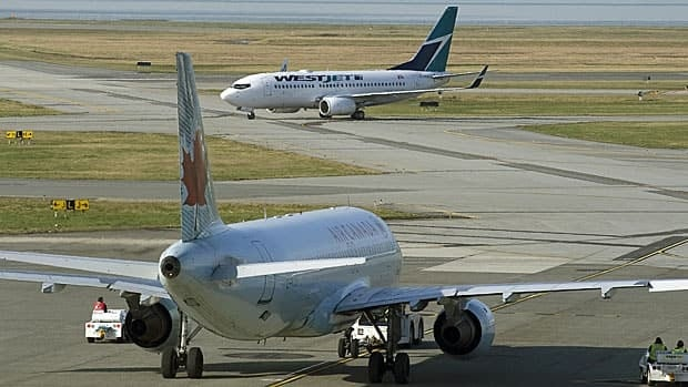 Canada's two largest carriers, Air Canada and Westjet, are both opposed to the EU carbon tax plan.