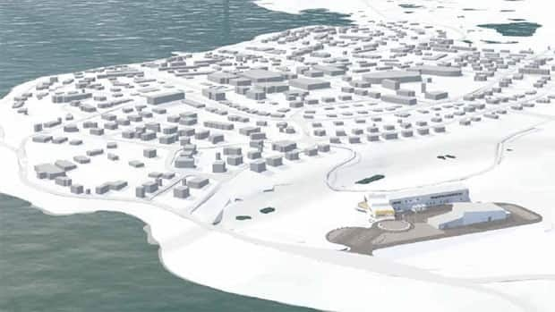 The CHARS site will be located on the outskirts of the community of Cambridge Bay, Nunavut. It will be one of the largest buildings in the territory.