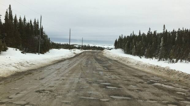 The pothole-riddled road to Conche made the news this winter, with the local MHA describing it as a washboard.