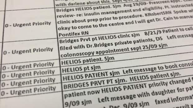 Patients from a private clinic called Helios Health and Wellness were in a cancer screening centre's database.