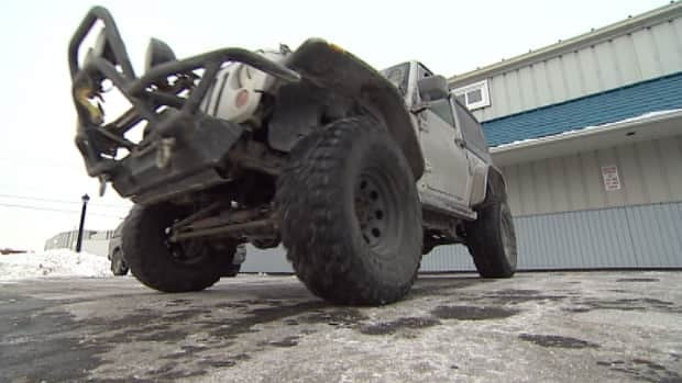 This is only the second time since White Juan, the 2004 storm, that Capital Health has called in the Nova Scotia Jeep Club.