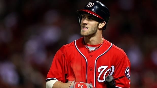Washington Nationals outfielder Bryce Harper took home the National League rookie of the year award on Monday after an impressive first season in the majors.