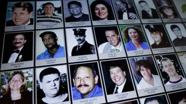 Electronic images of victims of the attacks of Sept. 11, 2001, were unveiled Monday in New York City. The digital display will be part of the 9/11 Memorial Museum.