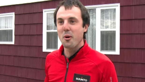 Jamie McDonald takes a break from running to talk about his cross-Canada journey plans.