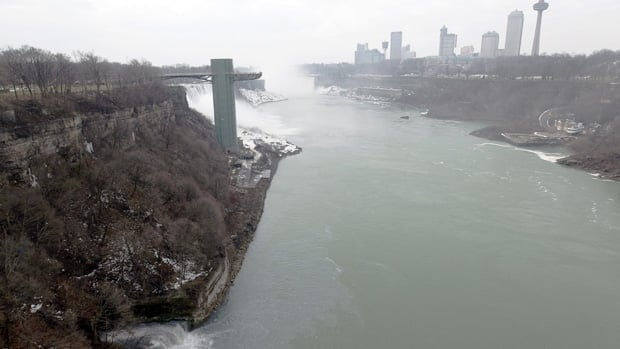Niagara Police pulled a woman's torso from the Niagara River between the Maid of the Mist and the Rainbow Bridge on Thursday.