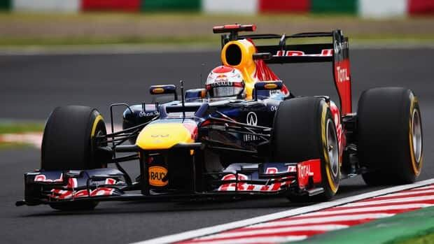 Sebastian Vettel of Germany and Red Bull Racing drives during qualifying for the Japanese Formula One Grand Prix at the Suzuka Circuit on Saturday in Suzuka, Japan.