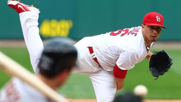 Kyle Lohse, seen here pitching in the NL Championship Series against San Francisco, won 16 games this past season and probably will cash in during free agency this winter.