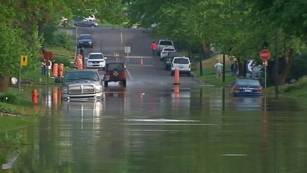 Two rivers near Quebec City overflow, flooding homes ...