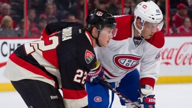 The Ottawa Senators and Montreal Canadiens meet Saturday night on Hockey Night In Canada.