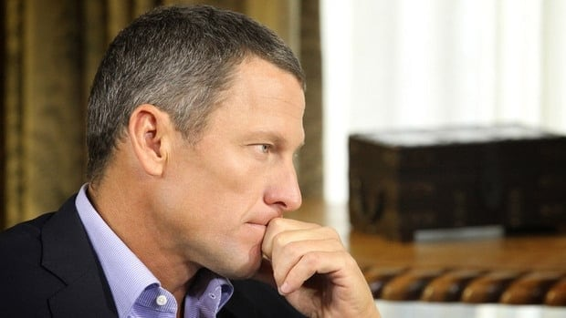Lance Armstrong speaks with Oprah Winfrey regarding the controversy surrounding his cycling career.