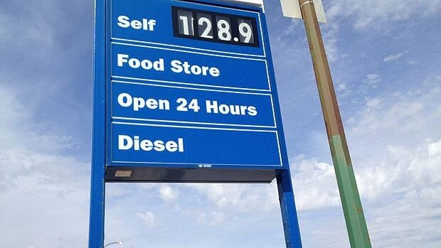 Gas prices rose to $1.289/L in Winnipeg on Thursday.