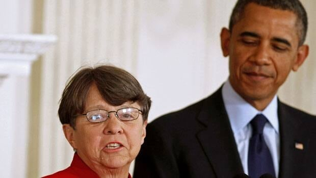 U.S. President Obama announces Mary Jo White for SEC chairwoman in Washington. Larry Downing/Reuters