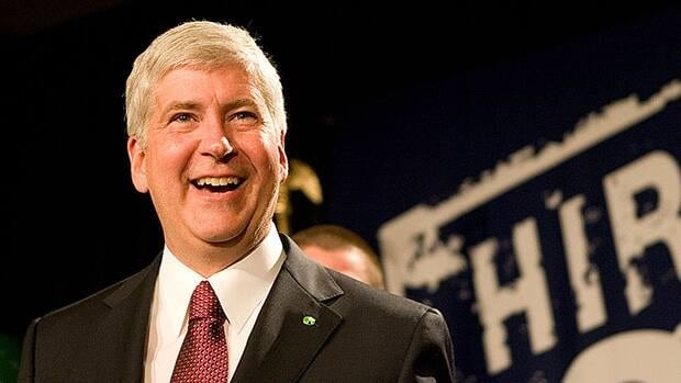 Rick Snyder has called Canadians great partners in his pursuit of a new bridge.
