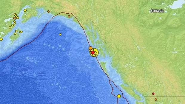 The earthquake was the latest in a series of recent shocks recorded off the coast of Alaska.
