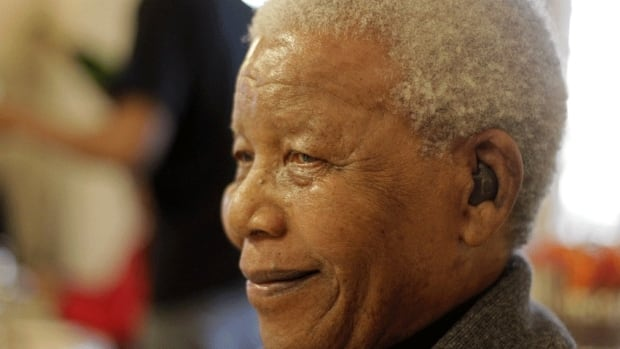Former South African President Nelson Mandela celebrates his 94th birthday in Qunu, South Africa, Wednesday, on July 18, 2012. On Monday, the presidency announced that the anti-apartheid figure will be spending Christmas Day in the hospital.