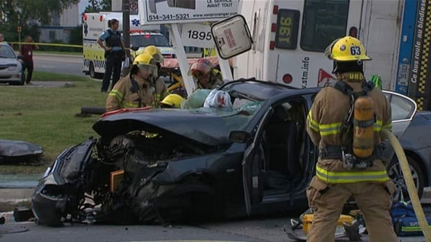 Two people died, two were critically injured and nine others suffered minor injuries in an accident involving a Montreal transit bus Tuesday evening.