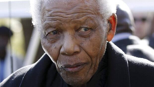 Former South African president Nelson Mandela has been in the hospital since June 8.