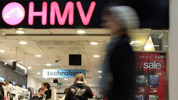 While HMV's future in the UK looks dim, HMV Canada's domestic stores are still bustling with traffic — and in some cases even growing — as customers snap up movies and music, the CEO says.