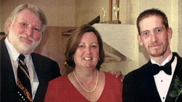 David Graves, at left, said he is in shock after his wife Donna, in middle, and son Daron, at right, were found dead inside Daron's vehicle.