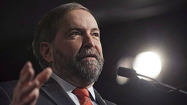 Federal NDP leader Tom Mulcair.