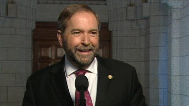 Federal NDP Leader Tom Mulcair is making his first visit to the Alberta oilsands on Thursday.