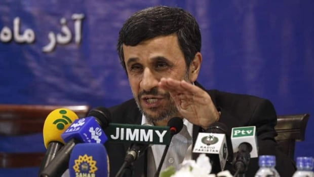 President Mahmoud Ahmadinejad, shown in November, hopes to become the first Iranian astronaut.