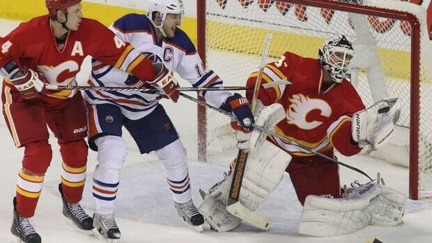 The NHL says it's inappropriate to apply the Alberta Labour Code to the Edmonton Oilers and Calgary Flames.