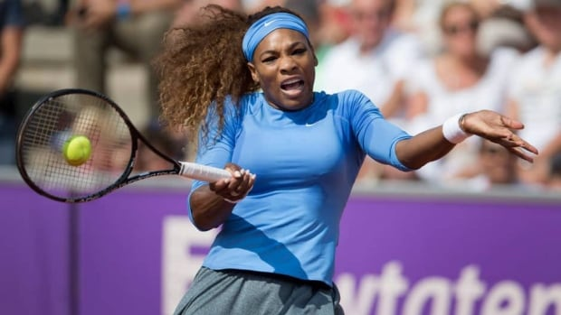 Serena Williams won a clay-court tournament in Sweden earlier this month.