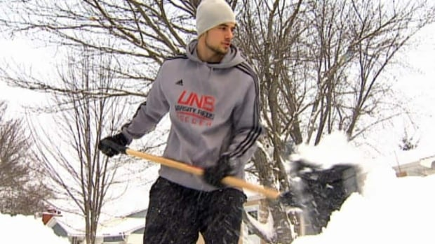 Environment Canada is predicting 20 centimetres of snow will fall across most parts of southern New Brunswick on Wednesday.