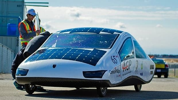 The University of Calgary's newest solar cruiser will compete against nine international teams at the 2013 World Solar Challenge in October.