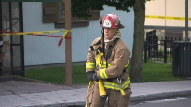 firefighters took less than one hour to put out the flames.