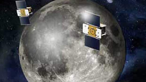 Using a precision formation-flying technique, the twin GRAIL spacecraft, now called Ebb and Flow, will map the moon's gravity field.
