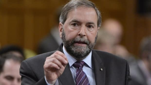 NDP Leader Tom Mulcair says he 'never saw cash,' and has no proof the ex-mayor of Laval, Que., Gilles Vaillancourt, offered him a bribe in 1994.