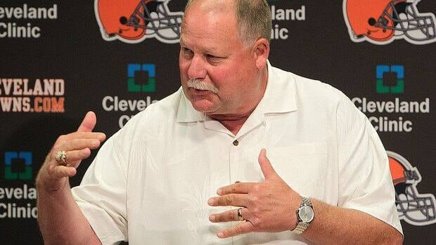 The sale of the Browns was unanimously approved by NFL owners Tuesday, and team president Mike Holmgren will be leaving the team at the end of the season.