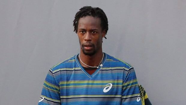 Gael Monfils, seen at the French Open, was ranked in the top 10 before being beset by injuries.