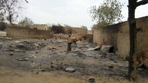 Residents told journalists that security forces specifically targeted civilians during the battle with Islamic Boko Haram militants in northeast Nigeria earlier this month. The army has denied the claims.