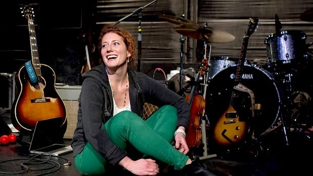 Canadian singer-songwriter Kathleen Edwards, seen at a Toronto rehearsal studio Jan. 12, took on an increased role in the production of her newest album, Voyageur.