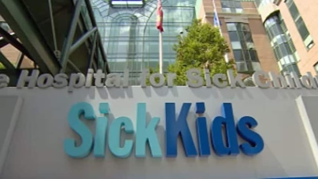 Sick Kids hospital sign