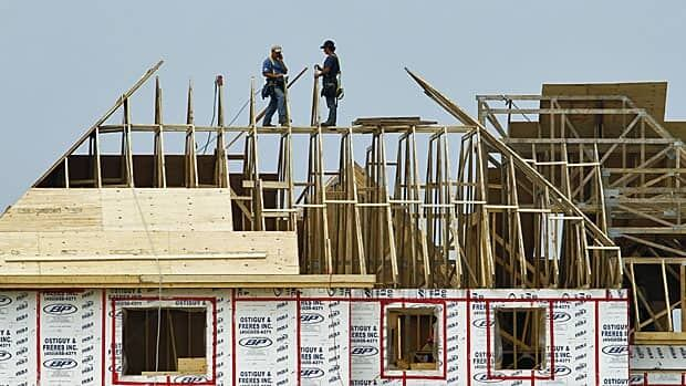 Canadian average housing starts for 2012 rose 11.4 per cent from the year earlier, their highest level since 2007.