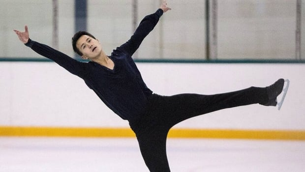 Patrick Chan at Skate Canada's summer skate in Markham, Ont. on Sunday August 18 , 2013.