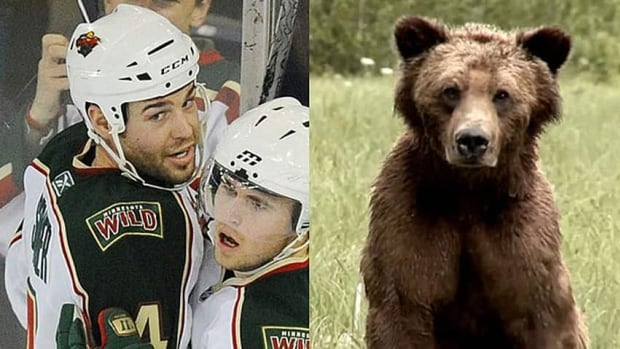 NHLer Clayton Stoner shot a grizzly bear on B.C.'s Central Coast in 2013.