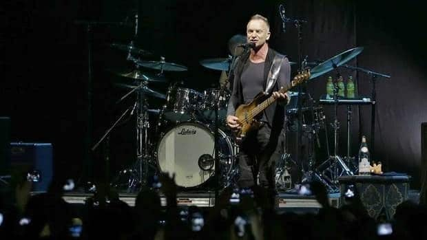 British singer Sting's latest Back to Bass tour took him around the world in 2012. He's extending the tour to Canada this spring.