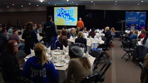 Hundreds of students from across the province attended the Speak Out Conference held this weekend in Edmonton.