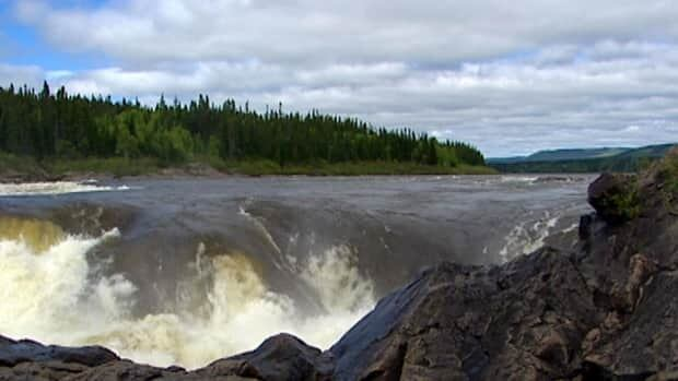 Muskrat Falls is the site for a proposed hydroelectric megaproject on the Churchill River in Labrador.