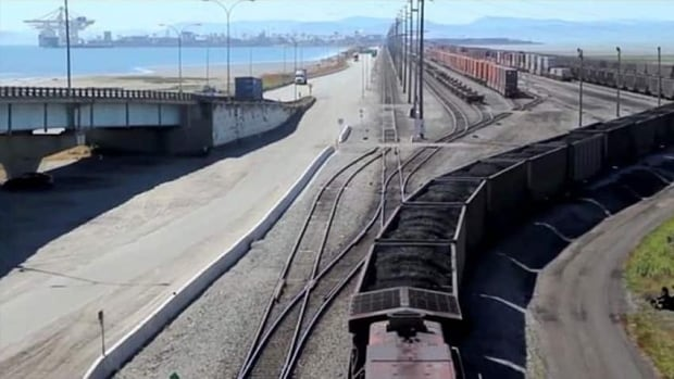 Westshore Terminals in Delta, B.C., is one of two existing coal terminals in Port Metro Vancouver. (WCWC)