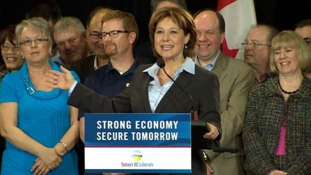 Premier Christy Clark gathered with most of her candidates and MLAs Saturday in Vancouver.